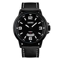 Skmei 9115 profil черные классические  часы мужские
