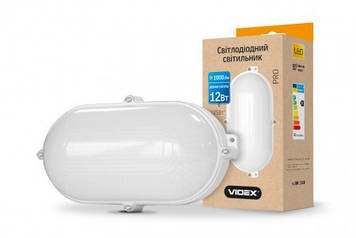 LED светильник VIDEX 12W 5000K 220V white