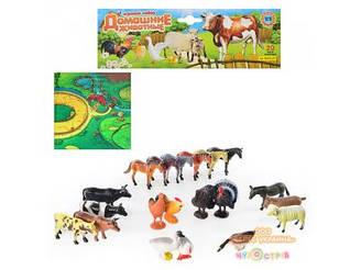 Животные 0255 U/R домашние  с игровым полем