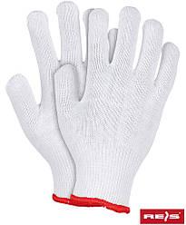 Защитные перчатки трикотажные REIS Польша RDZ W