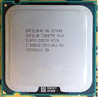Процессор E7400 Intel Core 2 Duo  2,8 GHZ/3M/1066