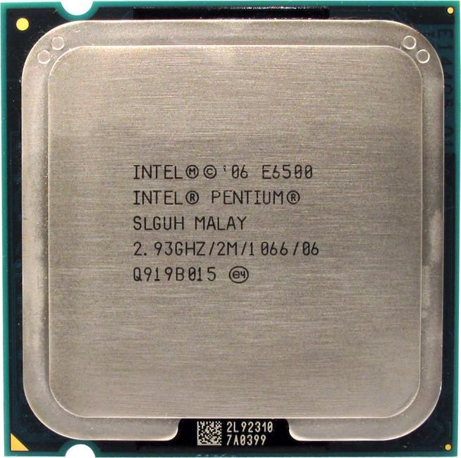 Процессор Intel Pentium E6500  2.93 GHZ/2M/1066