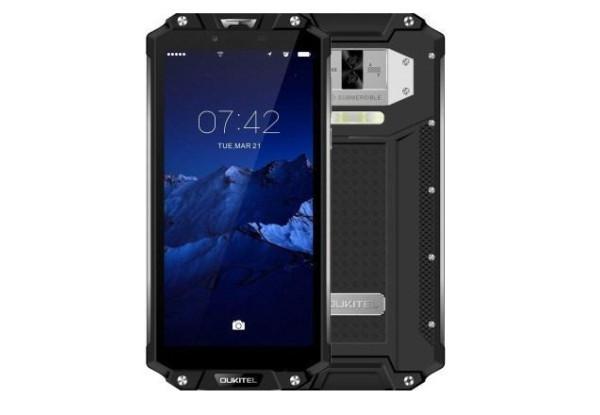 Защищенный смартфон Oukitel WP2 Black 4/64gb MT6750T 10000 мАч ip68