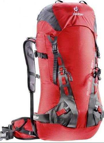 Треккинговый женский  рюкзак на 32 л. ACT DEUTER GUIDE LITE 32 SL, 33543 5580 красный