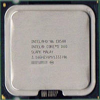 Процессор E8500 Intel Core 2 Duo  3,16 GHZ/6M/1333