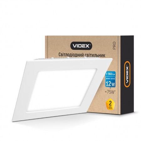 LED светильник  VIDEX 12W VL-DLS-125 white