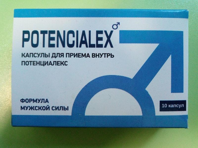 Капсулы для потенции Потенциалекс (Potencialex)