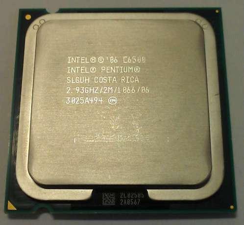Процессор E7500 Intel Core 2 Duo  2,93 GHZ/3M/1066