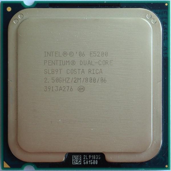 Процессор Intel Core 2 Duo E5200 2,5 GHZ/2M/800