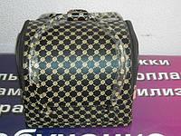 Бьюти-кейс. сумка для мастеров индустрии красоты. Цвет - черный.