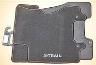 Коврики текстильные велюровые ниссан Nissan X-Trail II KE745-JG001