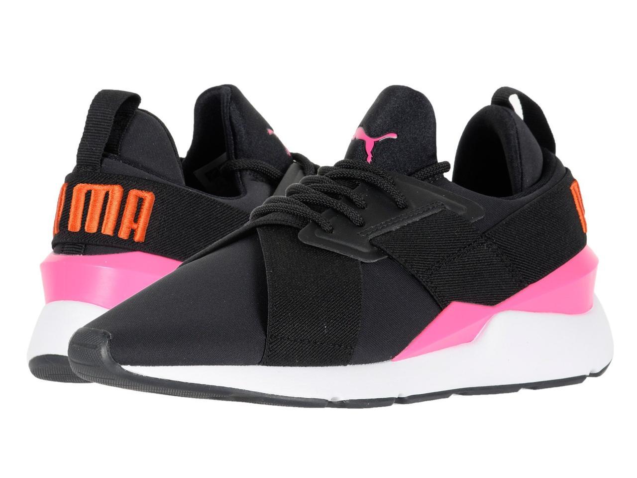 1f8a74fd886098 Кроссовки/Кеды (Оригинал) PUMA Muse Chase Puma Black/Knockout Pink ...