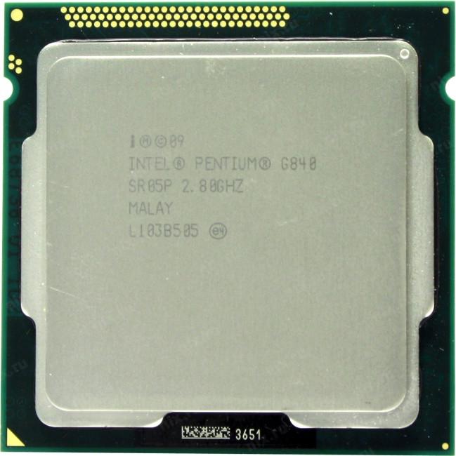 Процессор Intel Pentium G 840 (3M Cache, 2.80 GHz) Socket 1155