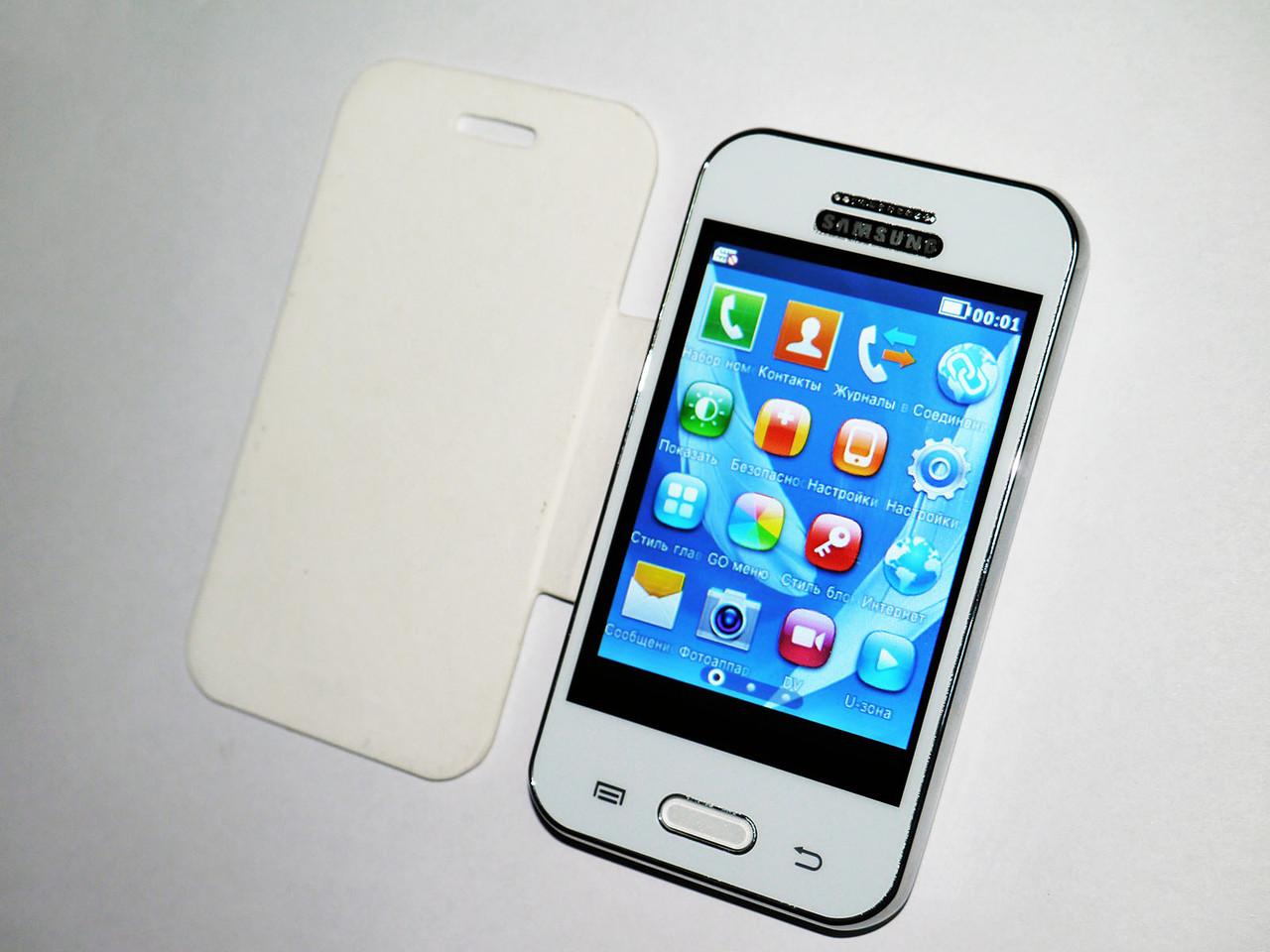 "Samsung N7100 Note II mini Белый - 3,2"" 2Sim + Чехол, фото 1"
