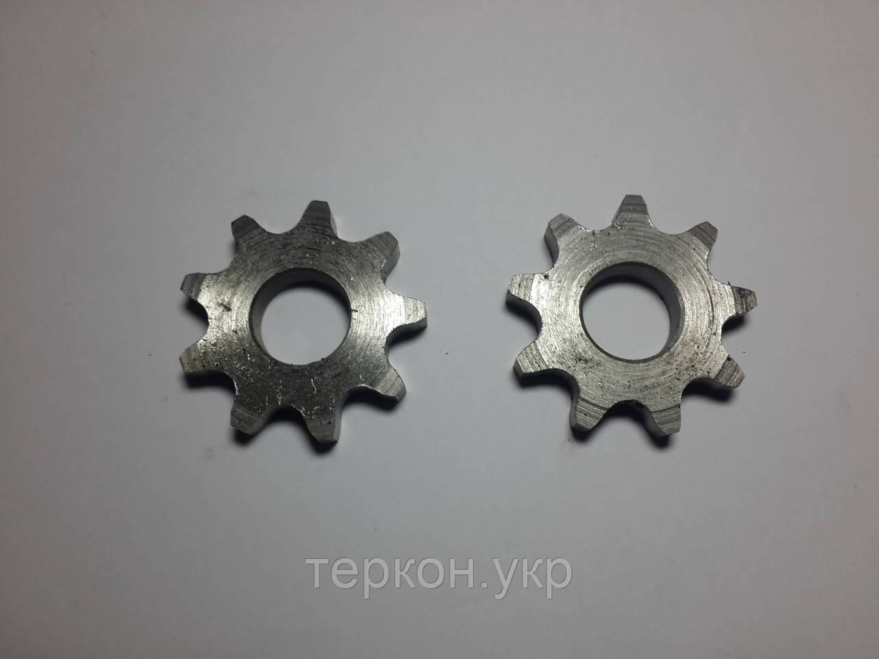 Венец/звездочка под цепь шаг (t) 19,05 количество зубьев (Z) 9