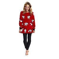 Теплая домашняя пижама Dobranocka 9565