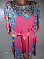 Летнее женское платье-туника, размер S/M , арт. M-5650 В