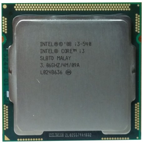 Процессор Intel® Core™ i3-540 4 МБ\3,06 ГГц