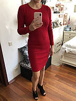 Вязаное женское платье, цвета разные, S,M р-ры, 400/350 (цена за 1 шт. + 50 гр.)