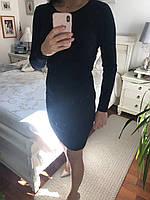 Платье вязаное для женщин, цвета разные, S,M р-ры, 400/350 (цена за 1 шт. + 50 гр.)