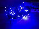 Гирлянда светодиодная 100 led 8 метров 8 программ с контроллером голубая Blue, фото 6