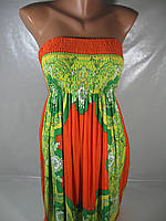 Летнее женское платье, размеры S/M, арт. 2907, фото 1