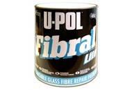 U-POL: FIBRAL LITE - Облегченная шлифуемая стекловолоконная шпатлевка