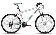 "Велосипед 26'' PRIDE XC-26 рама - 17"" бело-синий матовый 2015"