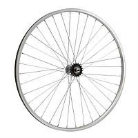 """Обод велосипедный  28"""" дюймов задний (без резины), одинарный алюм.обод 36 отв, торм.втулка FALCON"""