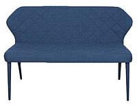 Кресло - банкетка VALENCIA (Валенсия) текстиль синий, Nicolas