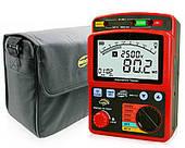 Мегаомметр Benetech GM3123 измеритель сопротивления изоляции (100 ГОм)