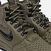 Мужские кроссовки Nike Lunar Force 1 Duckboot '17 (Найк Лунар Форс) зеленые, фото 2