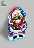 """Подарочная новогодняя упаковка """"Санта"""""""