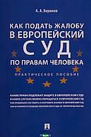 Бирюков А.А. Как подать жалобу в Европейский суд по правам человека. Практическое пособие