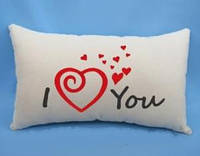 "Подарочная подушка ""I LOVE YOU"", фото 1"