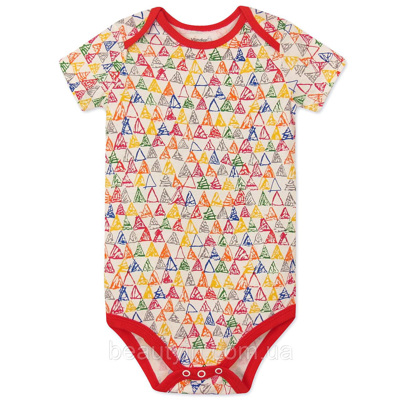 Боді для дівчинки Трикутники Vlinder