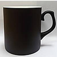 Чашка сублимационная Хамелеон Фарфор Черная