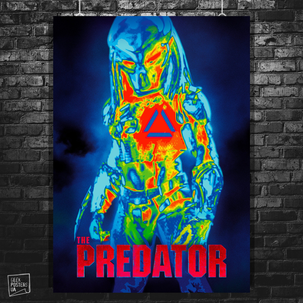 Постер Predator, Хищник. Размер 60x42см (A2). Глянцевая бумага