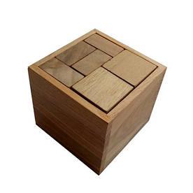 Деревянная головоломка Круть Верть Гала куб 6.5х7х7 см (nevg-0024)
