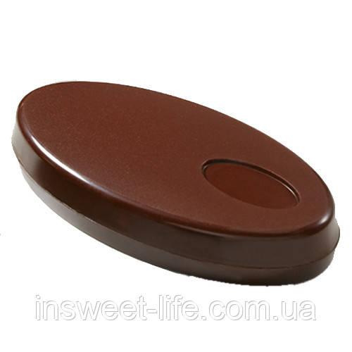 """Поликарбонатная форма для конфет """"Подарочная коробка оваль"""""""