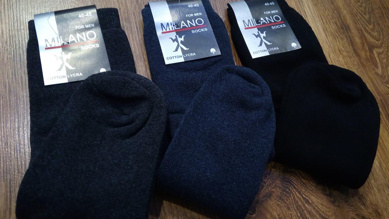 """Чоловічі махрові шкарпетки,""""MILANO,""""асорті(41-45)"""
