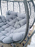 Гойдалка кокон для саду сіра, фото 4