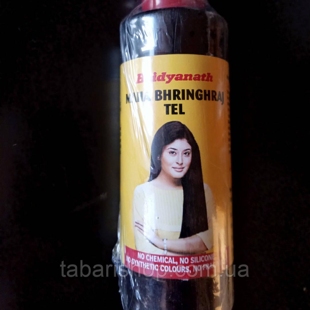 Махабрингарадж масло, Mahabhringaraj oil Baidyanath, 100 мл