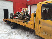 Эвакуация и перевозка мотоциклов, квадроциклов, скутеров
