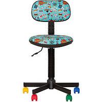 Кресло детское Новый Стиль Bambo GTS бирюзовое