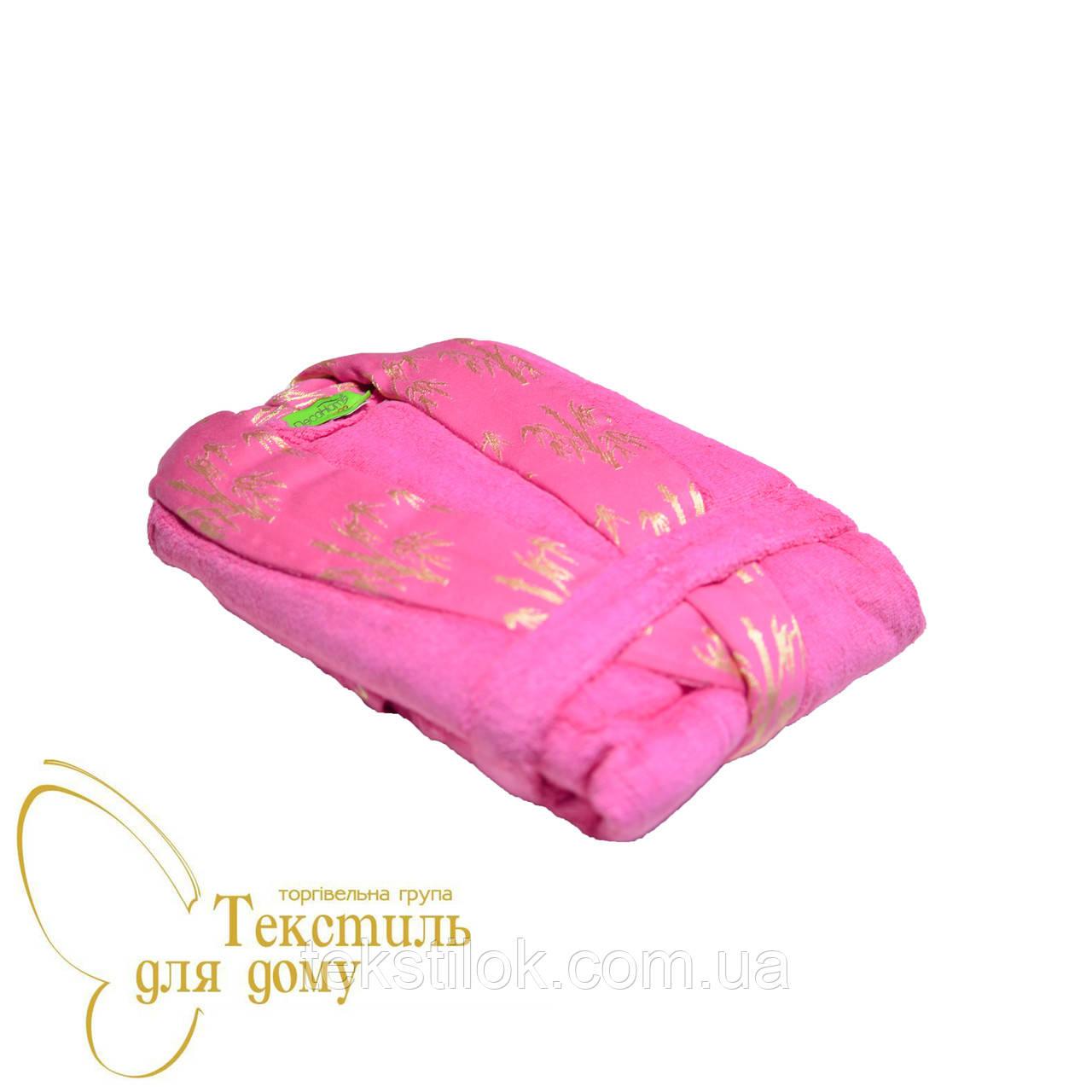 Халат Bamboo универсальный бамбук, розовый