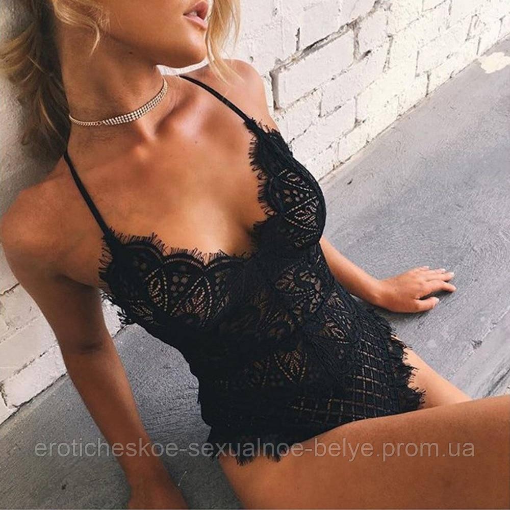 Женское кружевное боди  / Эротическое белье / Сексуальное белье / Еротична сексуальна білизна