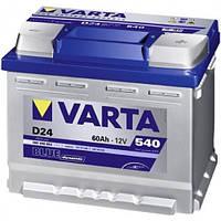Автомобильный аккумулятор VARTA 6ст - 60 Ah 540 A BD (D24) (+справа)