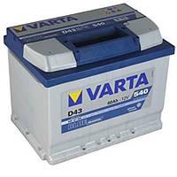Автомобильный аккумулятор VARTA 6ст - 60 Ah 540 A BD (D43) (+слева)