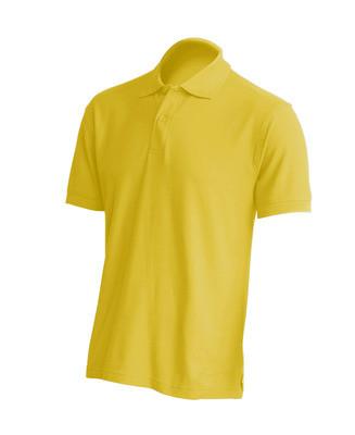 Мужская тенниска поло горчичный цвет